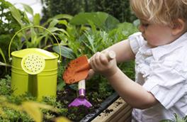 Jardiner avec enfant 1